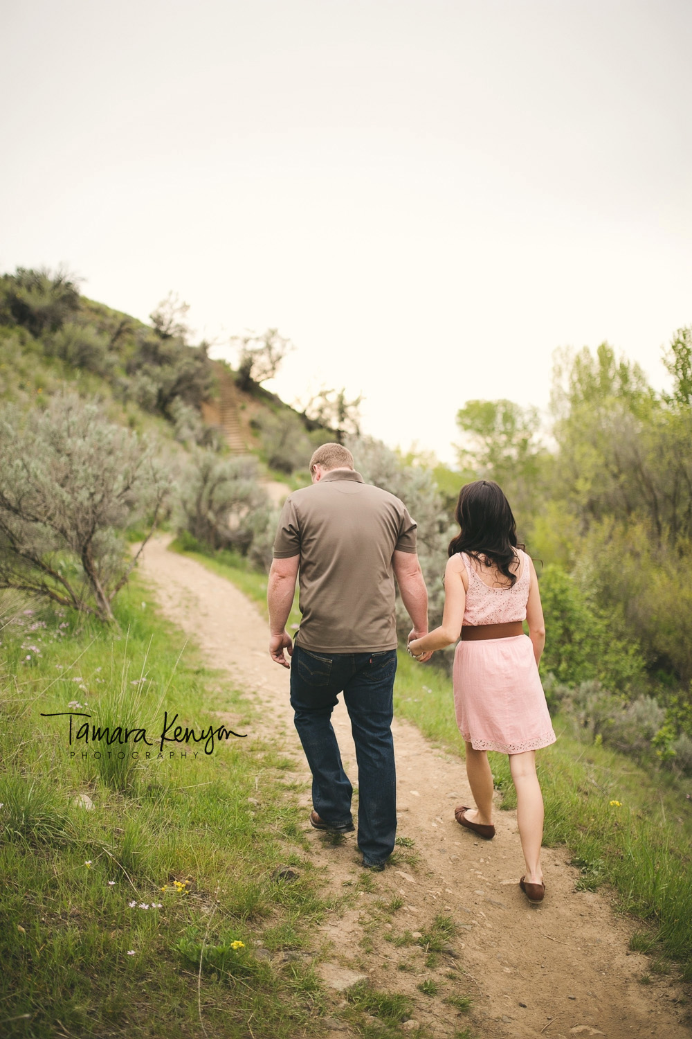 Lifestyle Engagement Session Boise Idaho