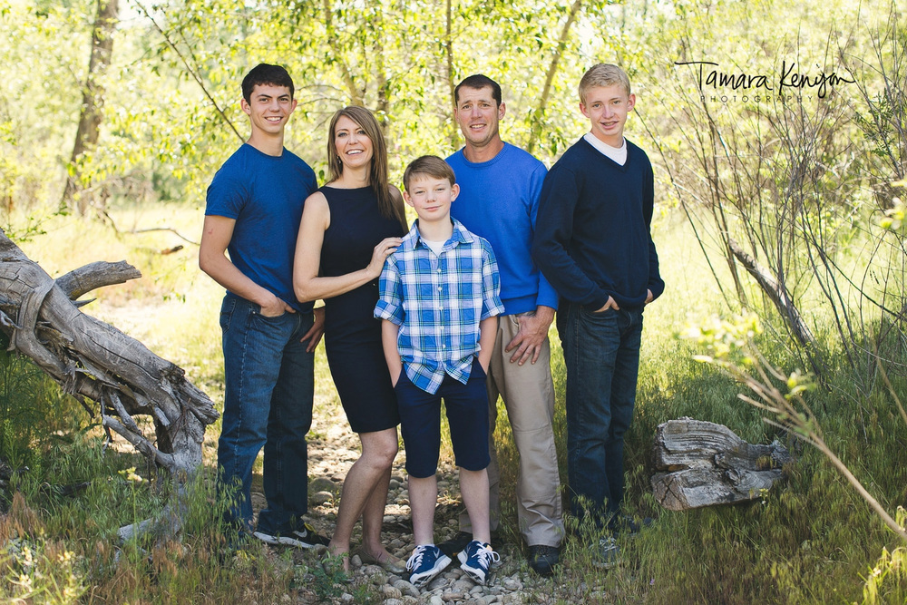 Family photographer boise