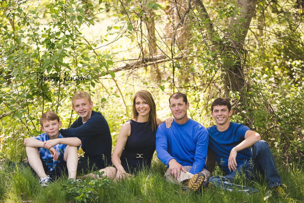 family photos in boise