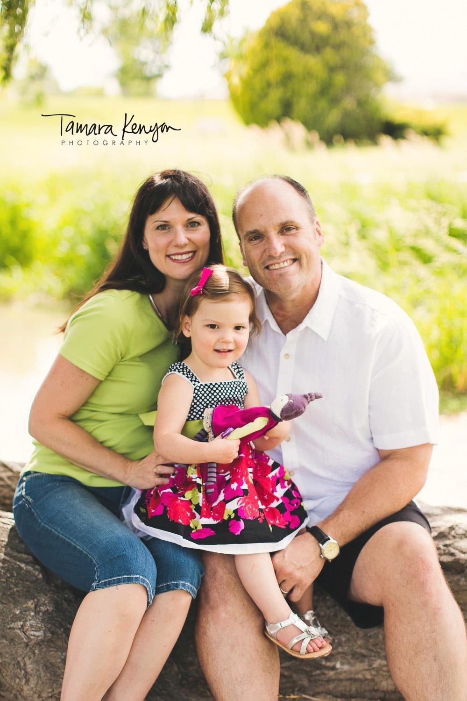 outdoor family photo nampa
