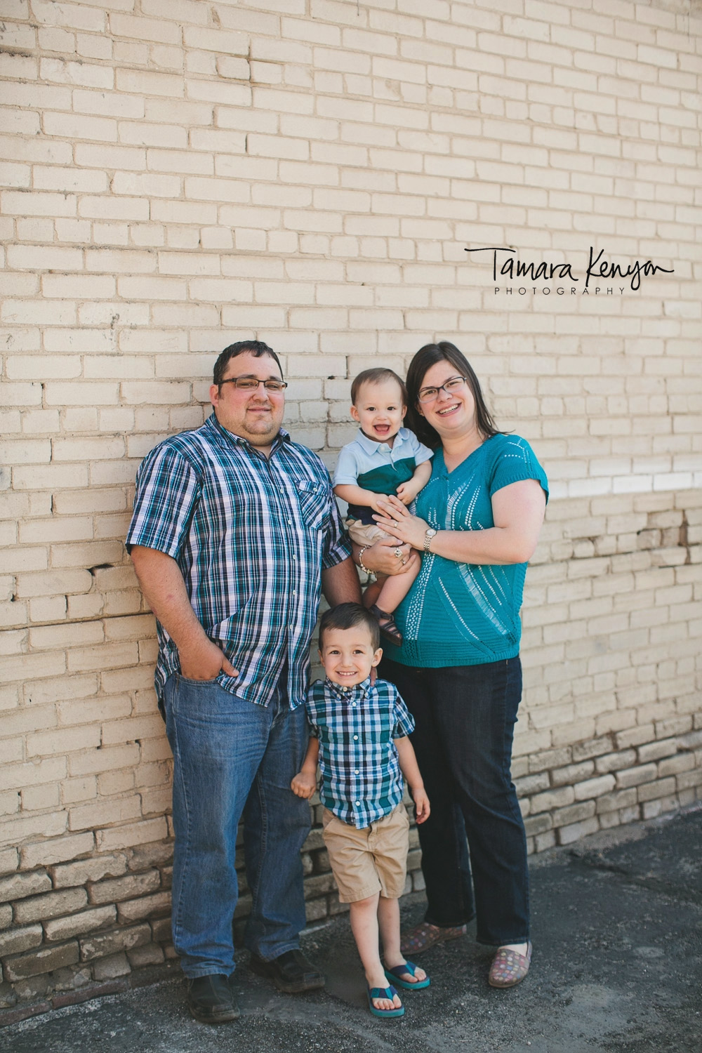 downtown boise family photos