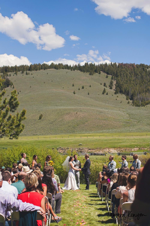 stanley idaho wedding ceremony