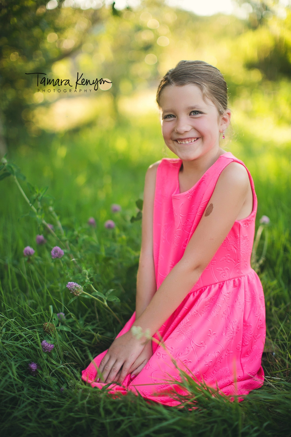 summer photo session in boise