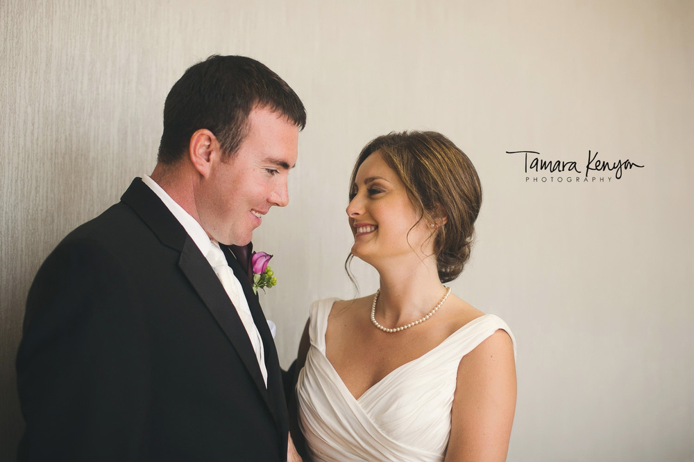 bride and groom at the grove hotel boise idaho