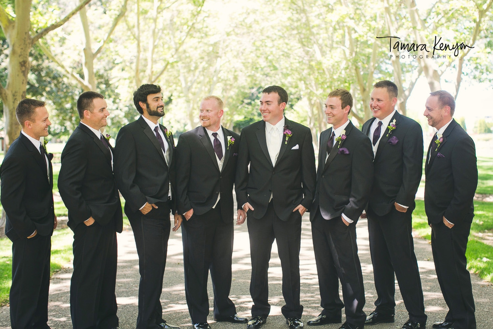 groomsmen julia davis park boise photographer