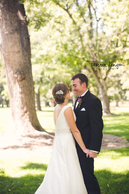 garden wedding boise photographer