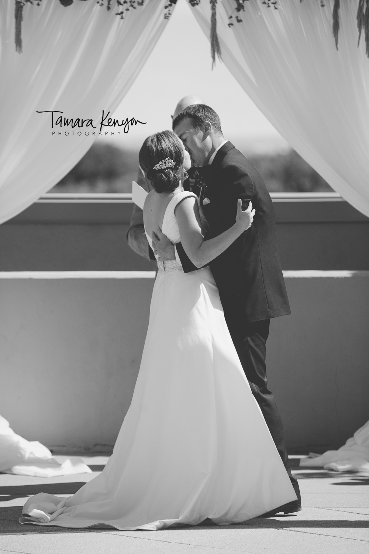 grove hotel terrace wedding boise