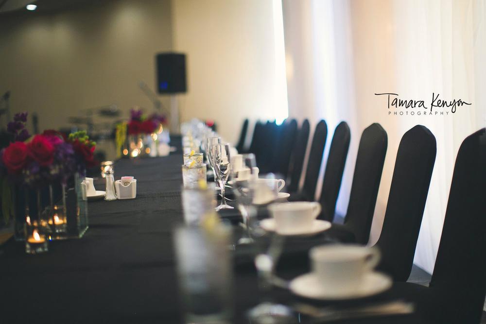 wedding reception grove hotel