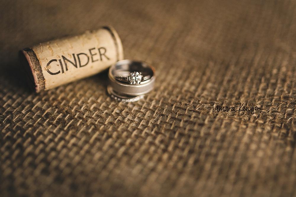 cinder winery wedding reception