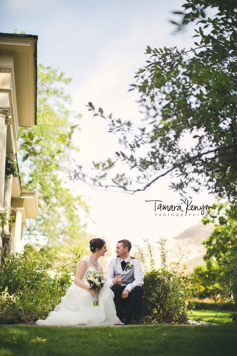 boise bishops house wedding