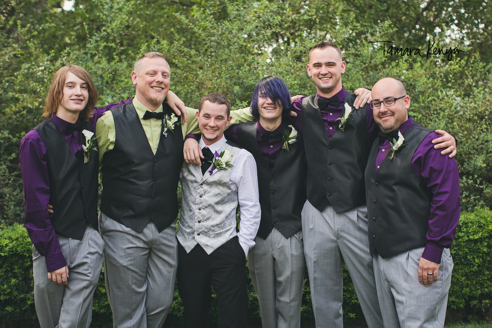 groomsmen boise wedding
