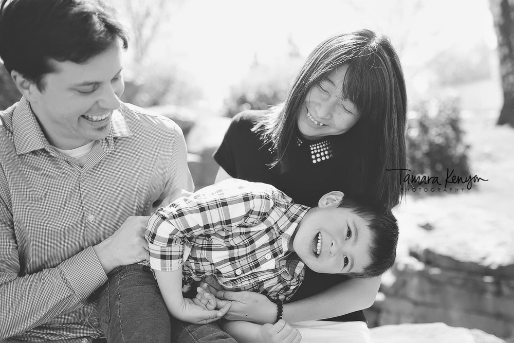 candid family photos in boise