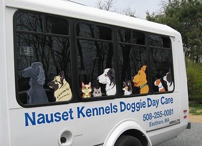 all dogs Bark Bus