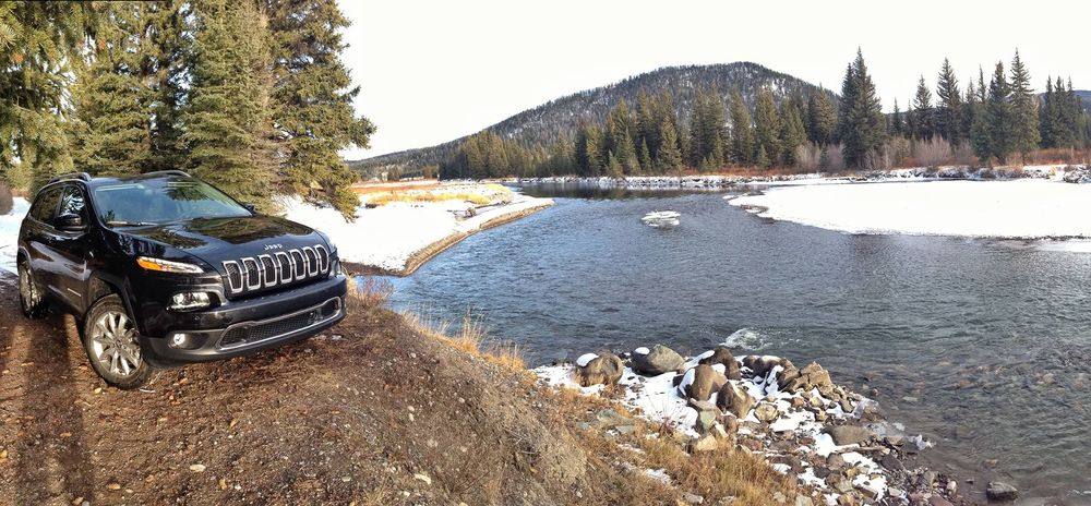 JEEP CHEROKEE  JACKSON HOLE SUV CHALLENGE     SEE PROJECT