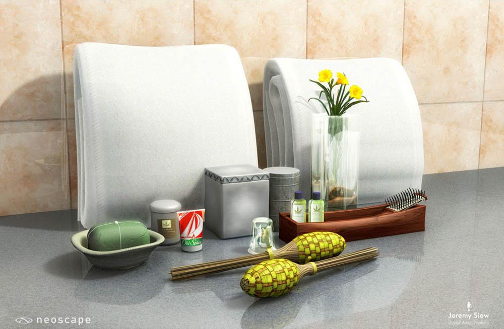 RITZ Tokyo Bathroom Props