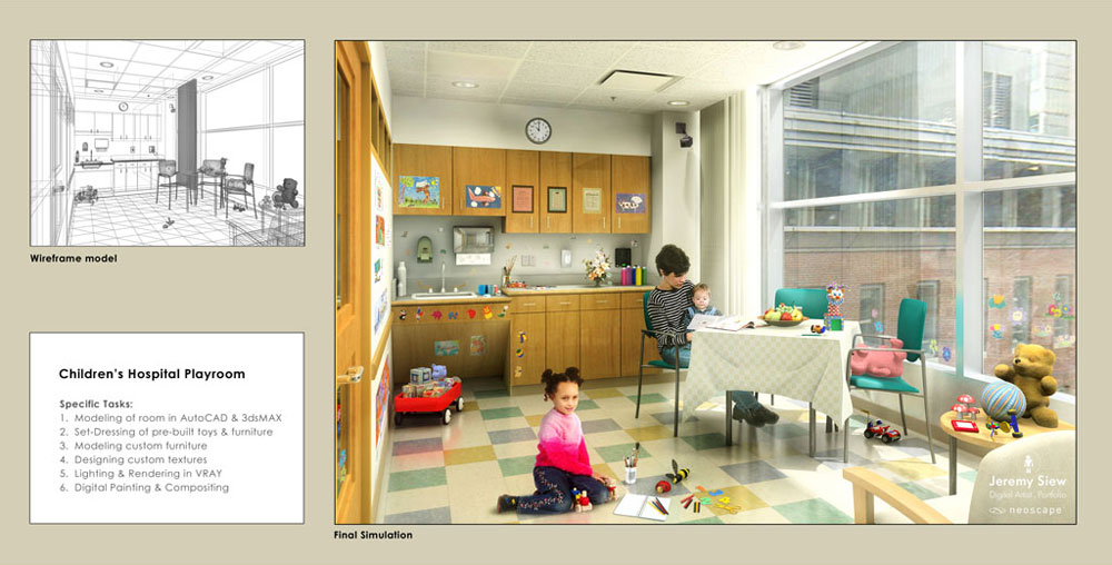 Children's Hospital Playroom