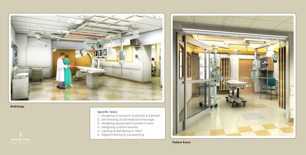 Children's Hospital Radiology / Patient Room