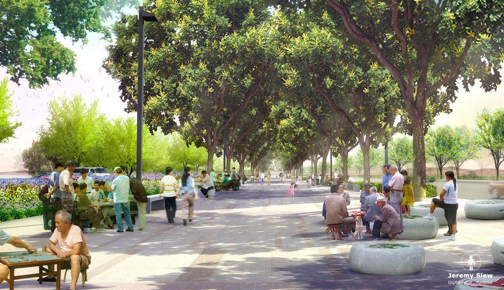 Qingyun Chess Boulevard