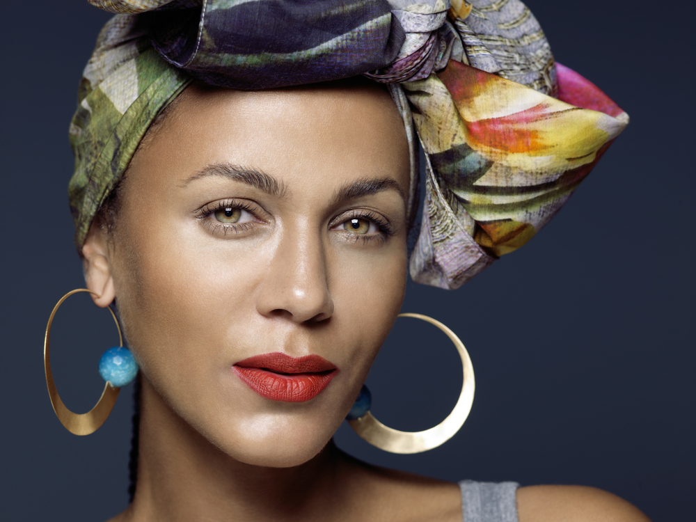 [Nicole Ari Parker photographed by Keith Major]