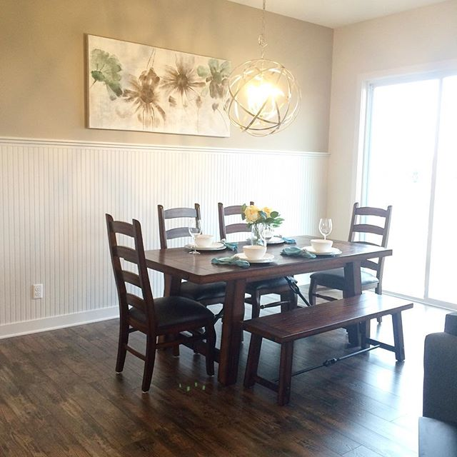 #LetInspirationBloom in our new Bayport model, ready just in time for @paradeofhomestc! Be sure to stop by & learn about your #dreamhome