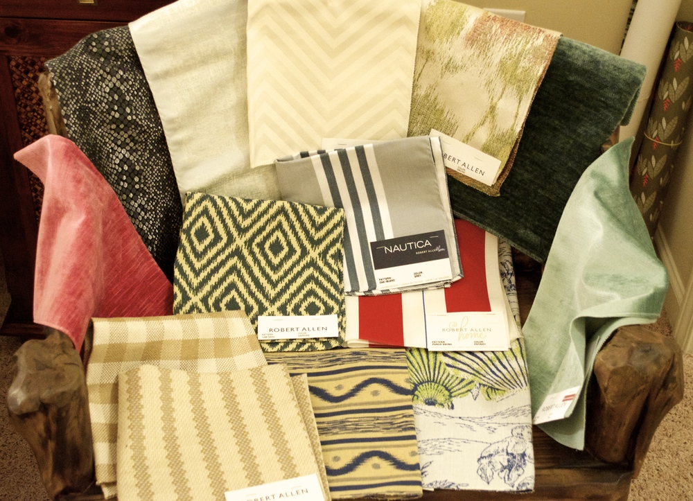 some of my favorite Robert Allen fabrics that have been discontinued