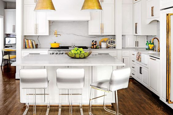 Hardwoods for White Kitchens — Kelsey Lee Interiors