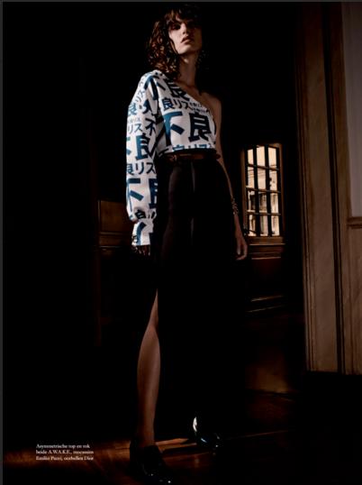 Harper's Bazaar Netherlands Dec 2015