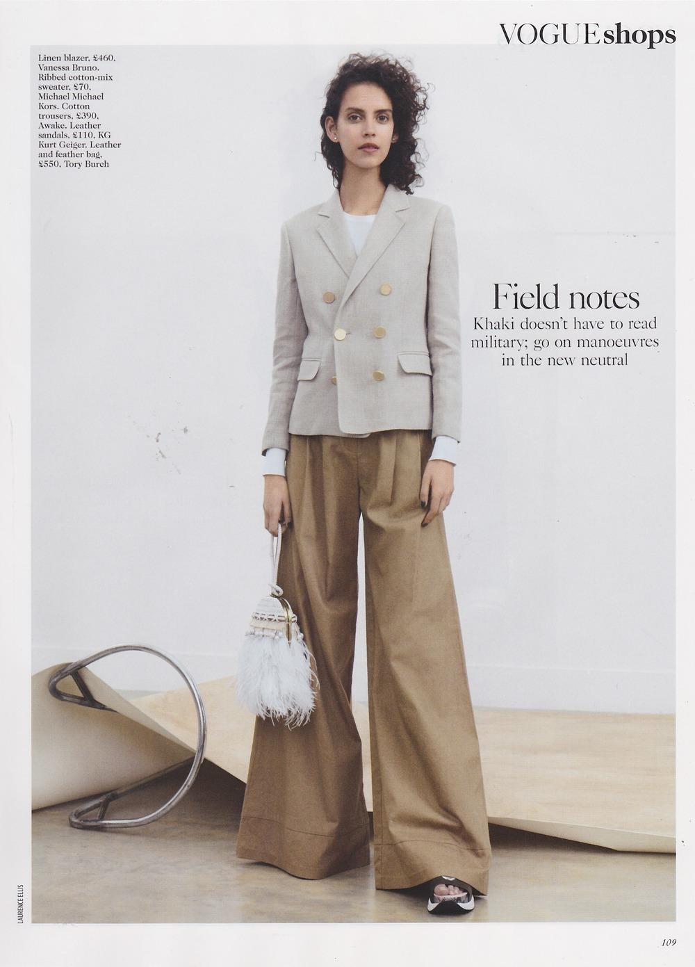 Vogue UK April'16
