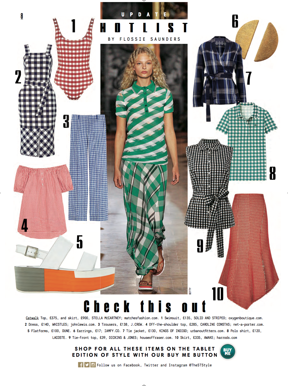 Sunday Times Style 24th April 2016