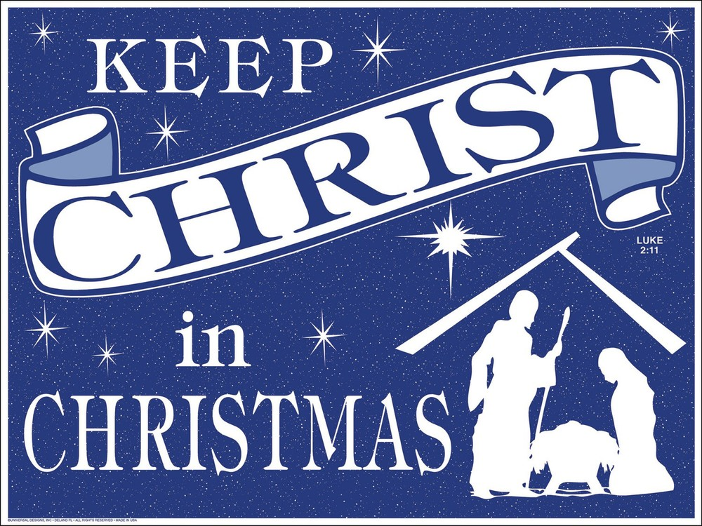 Keep Christ in Christmas contest — Lafayette Council # 361 Est. 1898