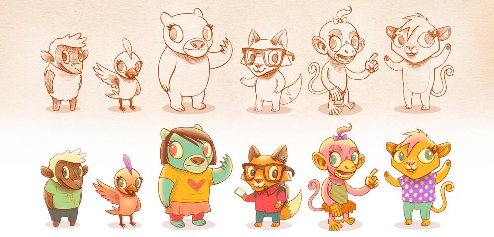Character Design Quarterly 4 : Character design — josh holland illustration