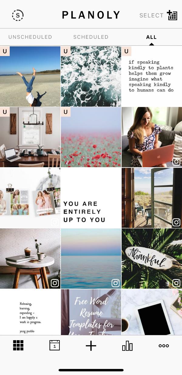 instagram planner tool