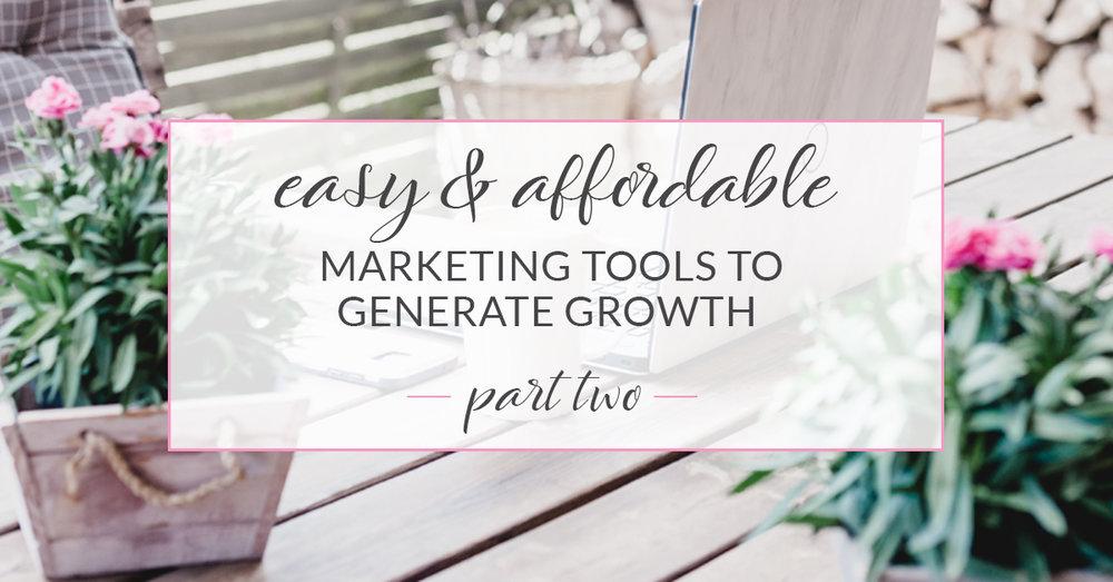 cheap marketing tools