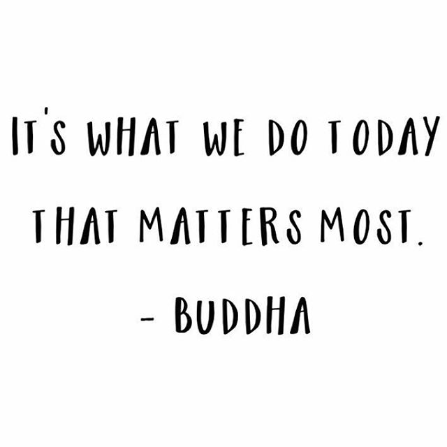 "It's as simple as that - don't you think? One of my favorite mantras is ""every day matters."" Every. Day. Matters.  It's incredibly simple but very impactful. When I take the time to stop and focus on what's in front of me and what I need to accomplish on that day, things start to happen. Little by little, the pieces fall into place.  No matter if you're working on a career goal or building your savings or trying to lose weight, it's all the same - every day matters!  Staying in the present moment makes the path to the future a whole lot easier 👌🏽🦋🖤"