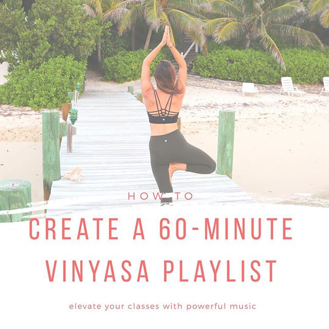 New on the blog! Does creating a playlist for your 60-minute #vinyasaflow class make you *cringe*? 🙈🙋🏽‍♀️Yes, creating a playlist takes some work but it is 100% worth the effort. A cultivated playlist will give your yoga class a serious boost and creates an energy that leaves students feeling empowered. Read my tips on how to create a vinyasa playlist & enjoy a link to one of my own! {link in bio} ✨💗🎹 • • • #graphicdesign #designforgood #yogateacher #200RYT #200hrYTT #registereddietitian #massagetherapist #branding #wellandgood #wellnessdesign #massagetherapist #RDNs #nutritionistlife #iammyownboss #ladyboss #branding #yogateacherwebsite #findyourjoy #choosekindness #personaltrainer #yogalogo #smallbusiness #easymarketing #createawebsite #DIYwebsite