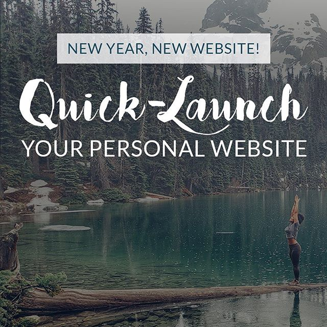 I'm so excited to say...I'm offering my first ever *New Year's Sale*!🤩 . If you're anything like me, you're scouting holiday deals for the best offers on Christmas gifts (and yoga clothes. All the yoga clothing sales 😂) . So why not save on the development of your business?! . I'm offering a Quick-Launch website service now through January 31 to welcome the new year. You'll receive: ~ A beautiful Squarespace website ~ Homepage + 2 additional pages ~ Pass off document on how to update your site ~ Unlimited Q&A with me All for less than 50% of my regular pricing AND delivered within 2 weeks. What!! . This is perfect for anyone who is looking to become a digital warrior 🥳 link in bio to learn more