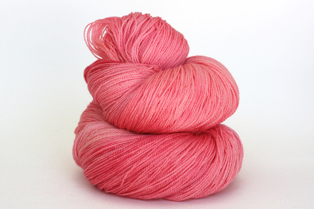 Pink Label Lace Weight in Pink Grapefruit.