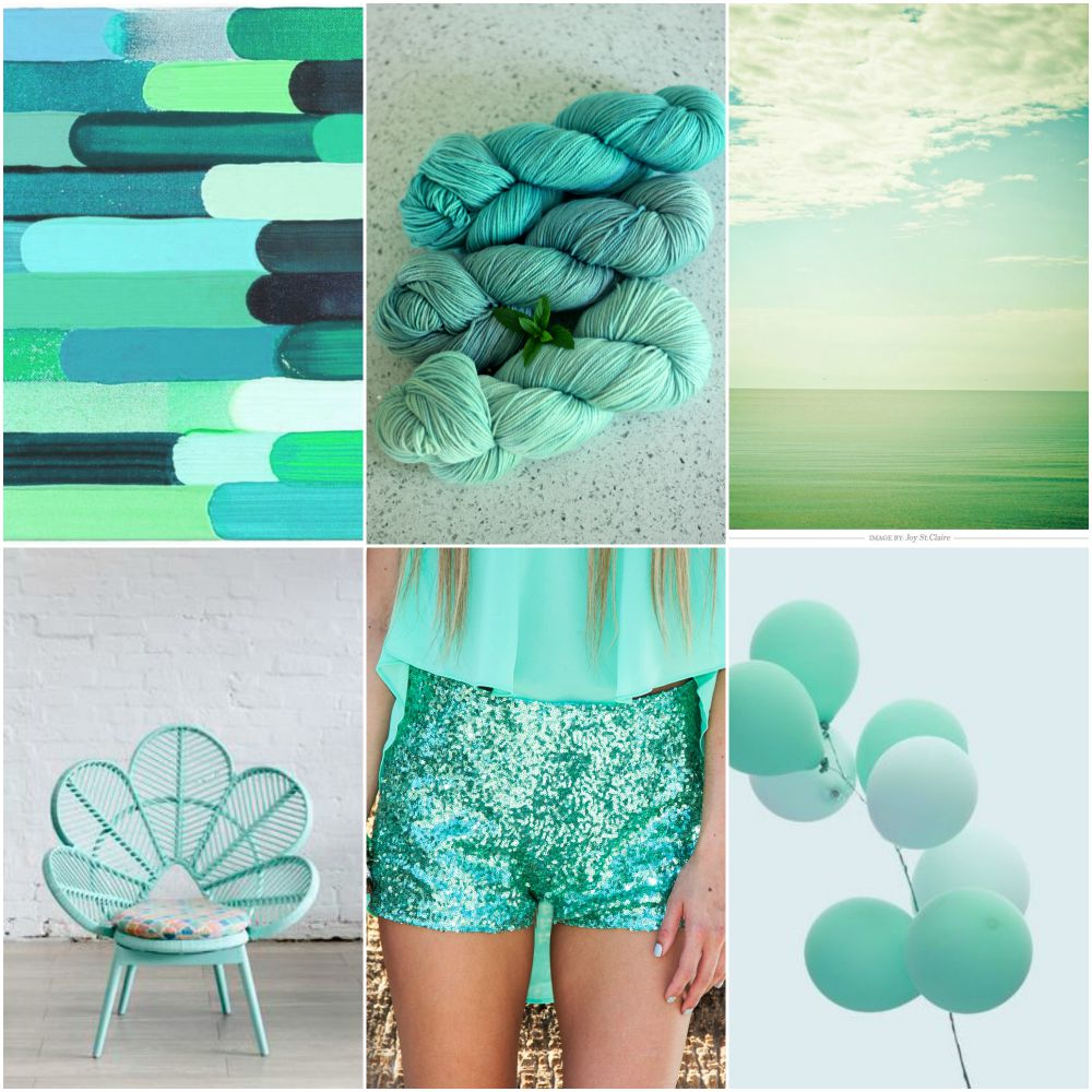 Sources:  blue green palette , a few TFA mint one of a kind skeins,  water/sky ,  chair ,  shorts ,  balloons .