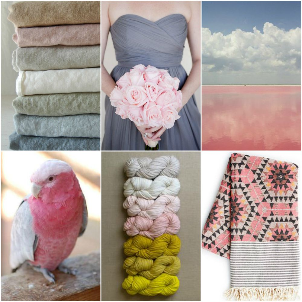 stacked fabrics, bridesmaid, sky, bird, yarn, aztec blanket.
