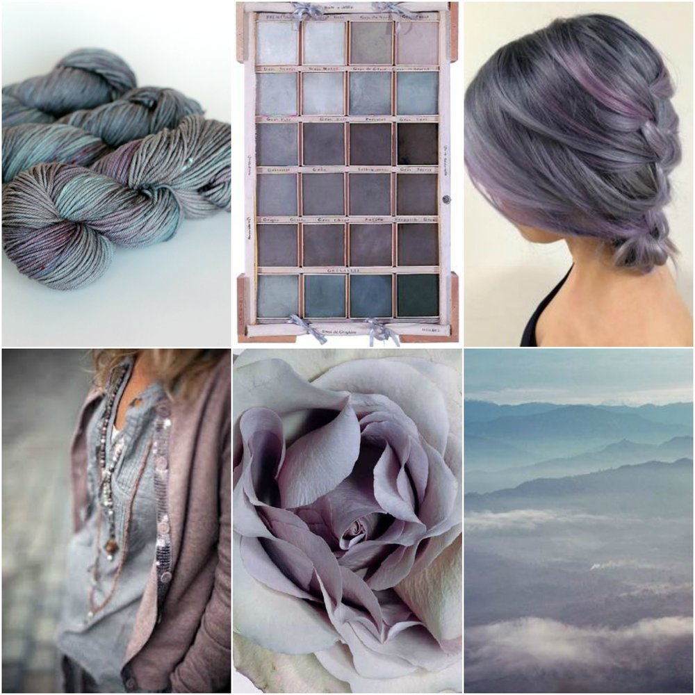 TFA PureWash Worsted in Plum Pudding,  painter's palette ,  hair ,  outfit ,  flower ,  landscape .