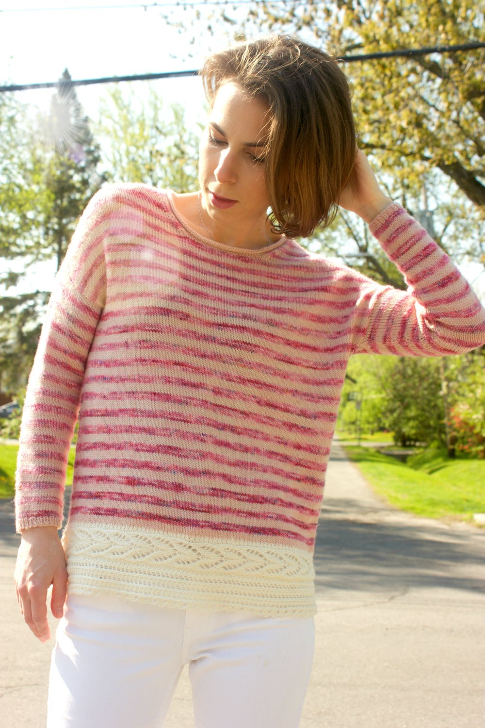 Indian Summer knit by Tanis Fiber Arts