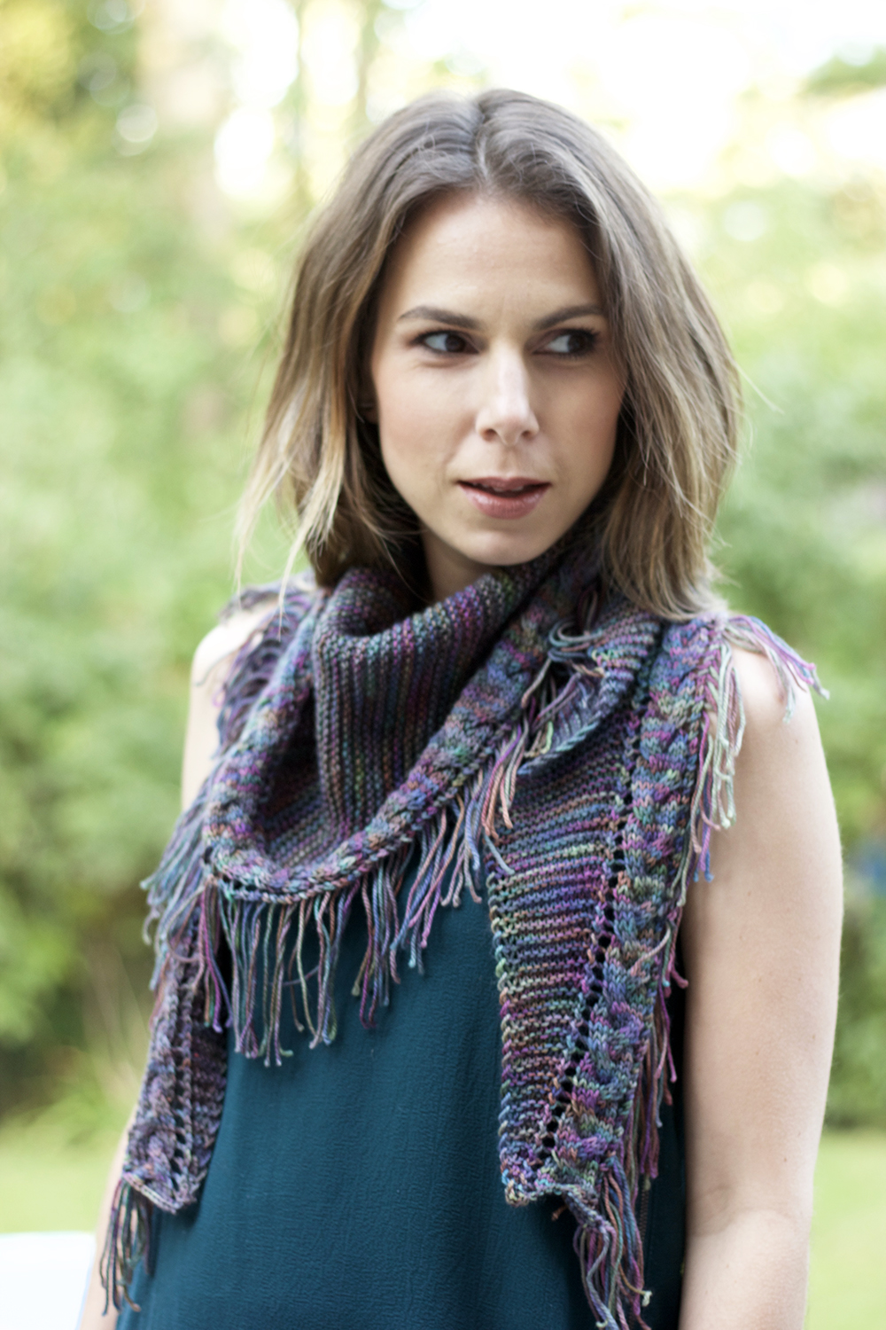 Truss Shawl by Tanis Fiber Arts
