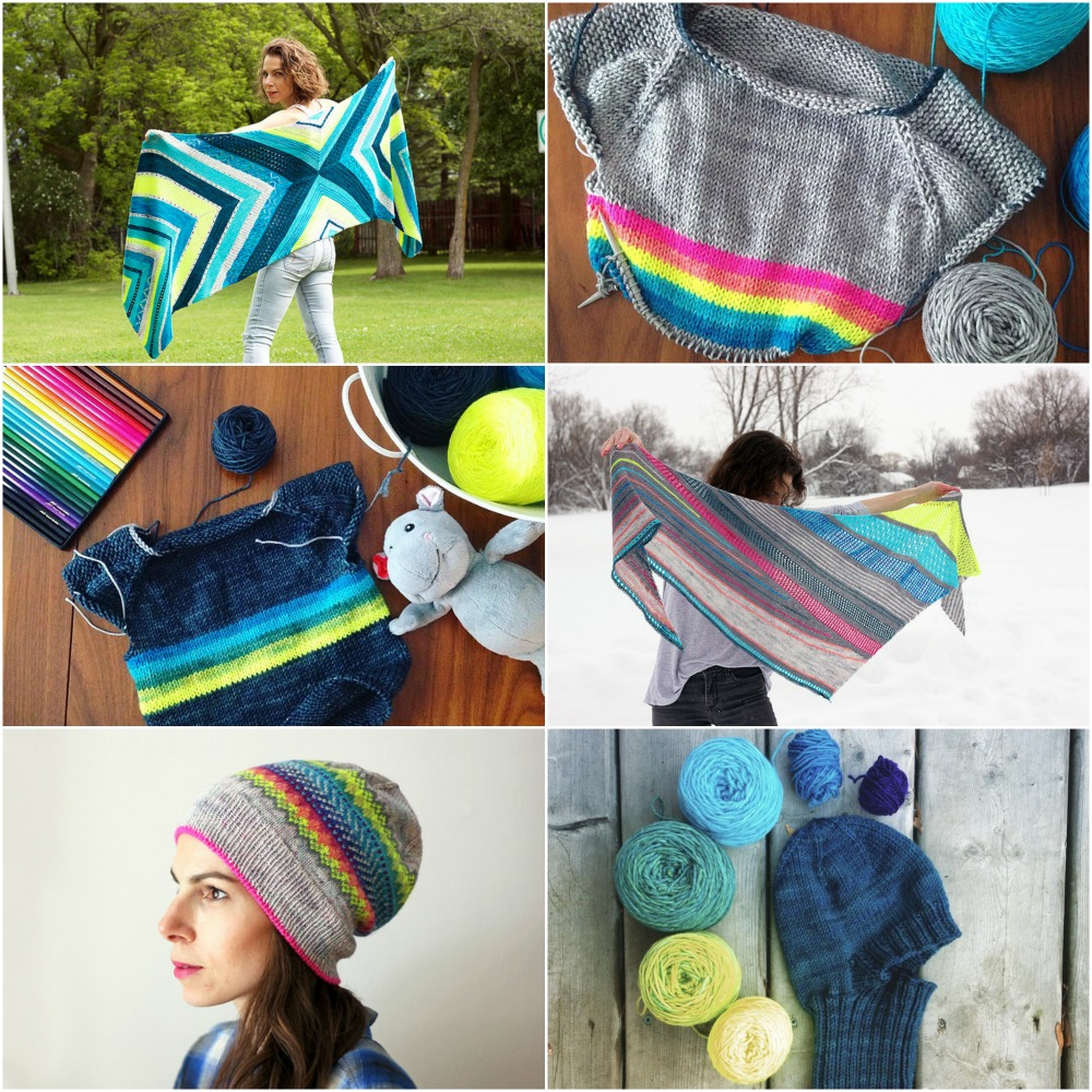 Starting Point ,  Rainbow Bright Flax ,  Signature Flax ,  Take It All ,  Neon Luminosity ,  Blue Dragon Hat .