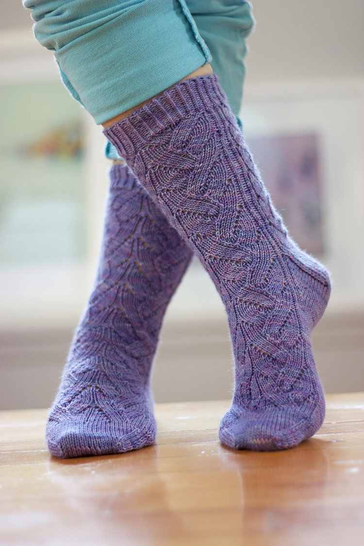 Lavanderia Sock Pattern - Introductory Sale! — Tanis Fiber Arts