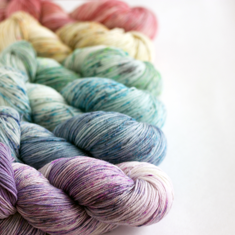 white light skein set