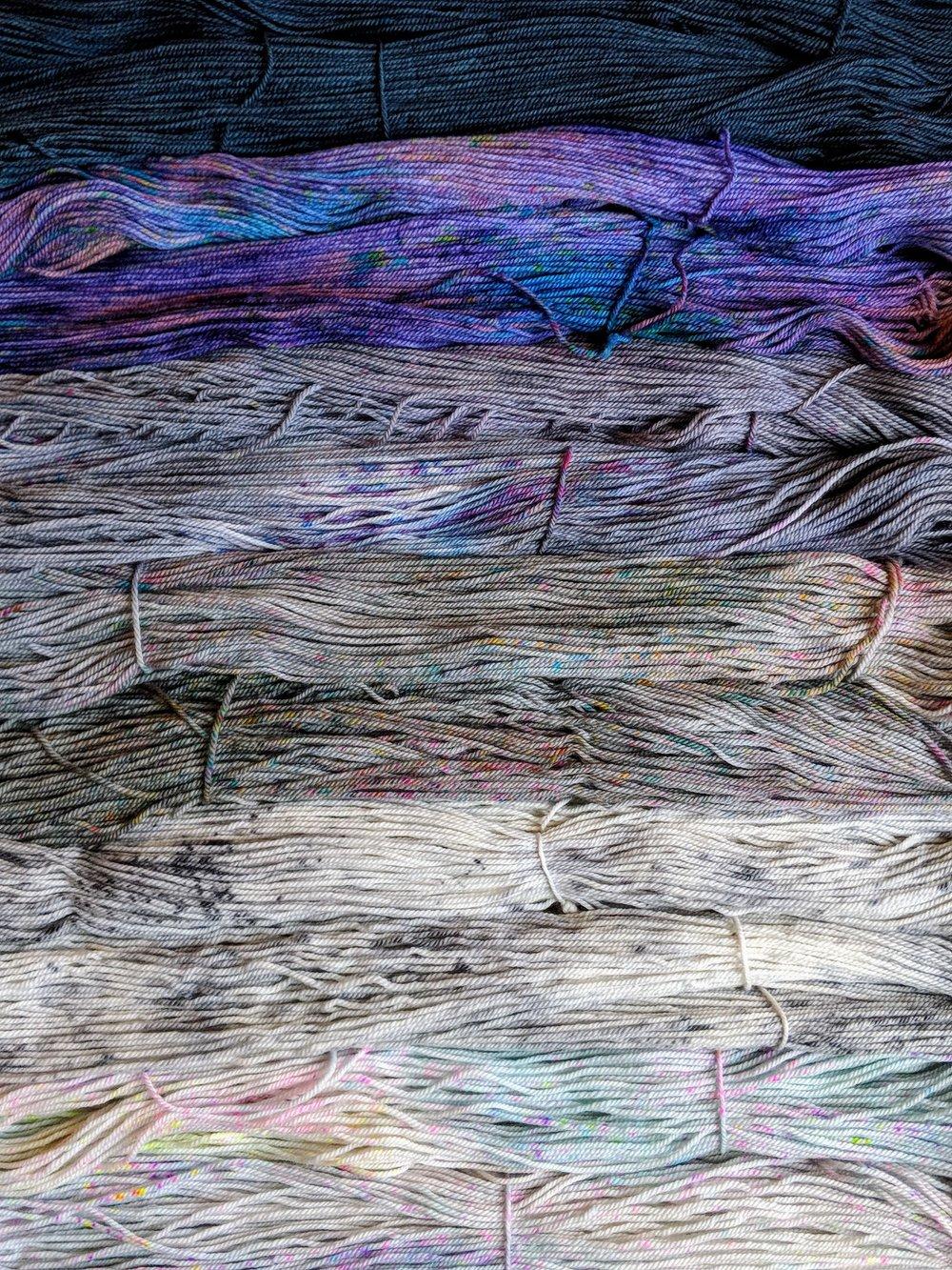 DTO Update Tanis Fiber Arts Pretty Purples!