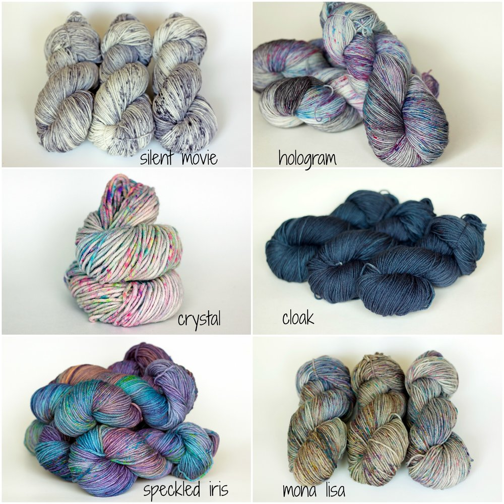 Today's Dyed-To-Order Update is live !!! What will you be knitting with these gorgeous colours?