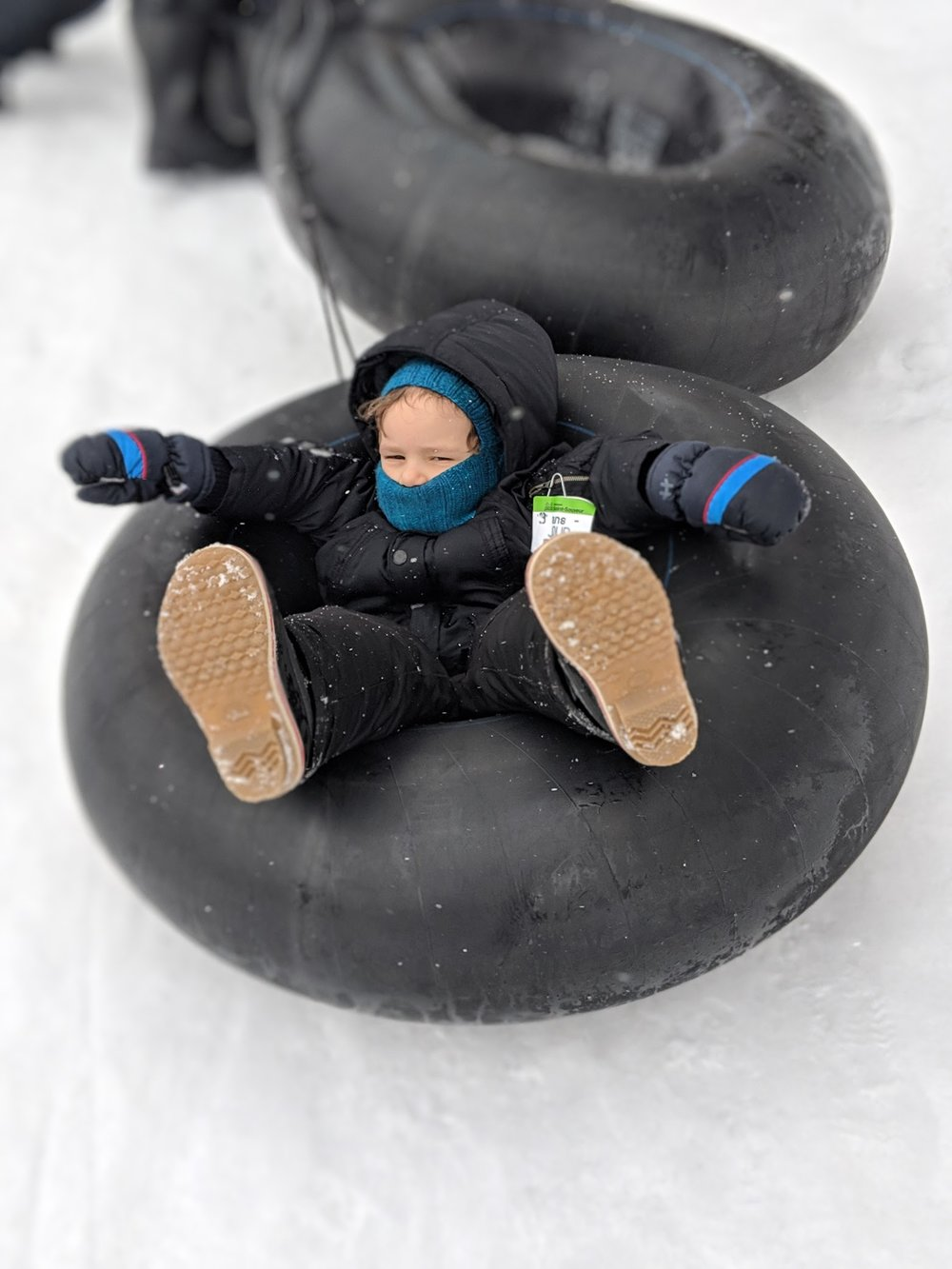 Last week we brought the boys tubing and it was amazing! There was a chairlift and everything. Big time fun for small kids and full grown adults as well.