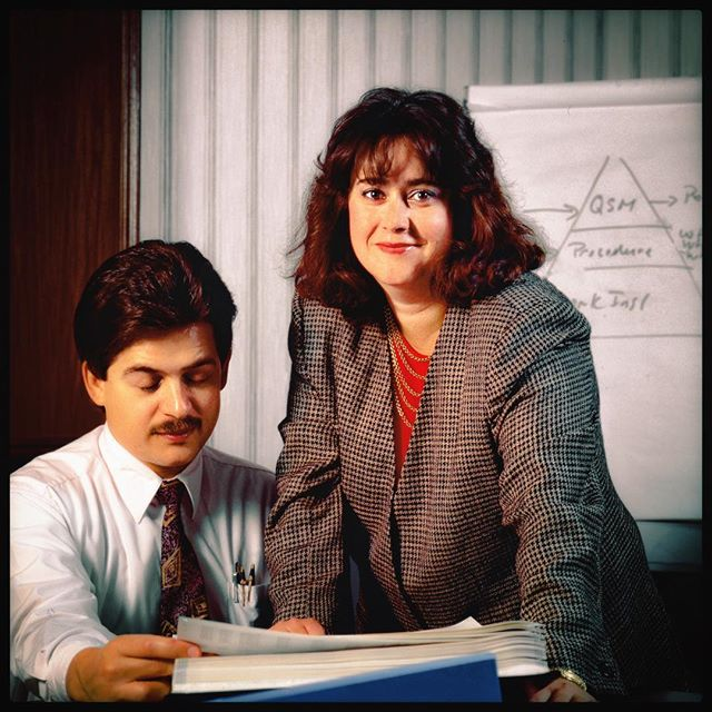 Another goofy corporate portrait at Exxon #jayrosenblatt_archive