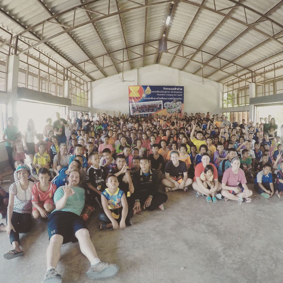 Our vision trip to Kalasin to share the Gospel with children